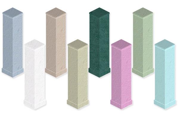 Simfreaks build columns 1 for Stucco columns