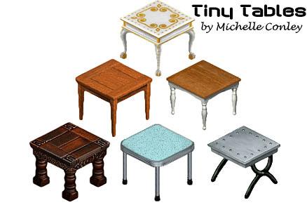 Tiny Tables (219 KB) TS